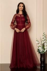 rochii de nunta lungi din voal