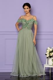 rochii lungi rosii de nunta
